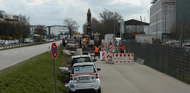 Optimierung der Radwegesituation entlang der B471