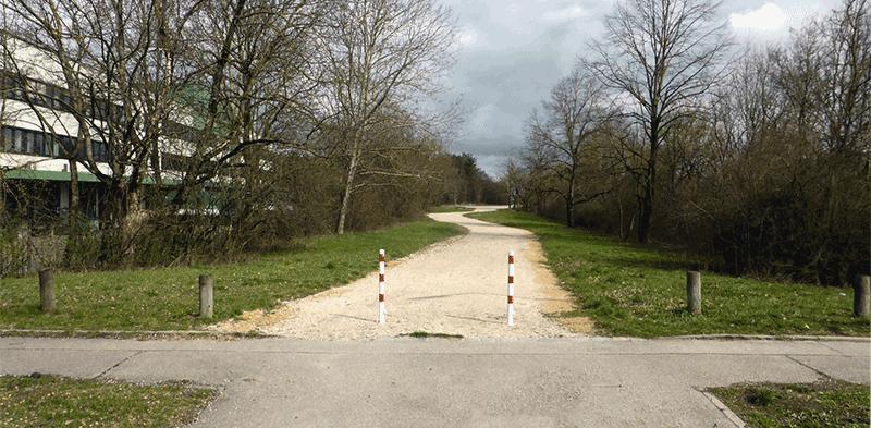 Radwegeverbindungen Hochbrück Nord